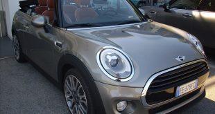 Mini Cabrio Test Drive Front