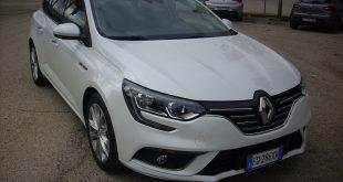 Renault Megane Sporter Test Drive Front
