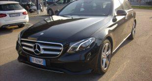 Mercedes E SW Test Drive Front