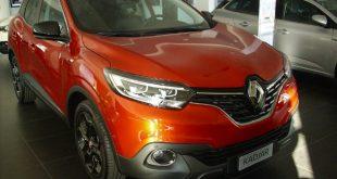 Renault Kadjar Test Drive Front