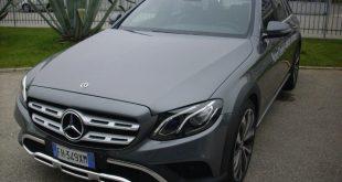 Mercedes E All Terrain Test Drive Front