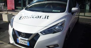 Nissan Micra Test Drive Front