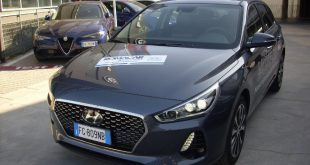Hyundai I30 Test Drive Front