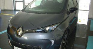 Renault Zoe Test Drive Front