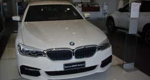BMW Serie 5 Test Drive Front