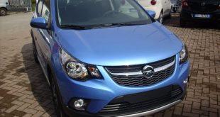 Opel Karl Rocks Test Drive Front