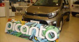 Kia Picanto Test Drive Front