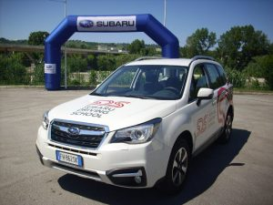 Subaru Forester Test Drive Front