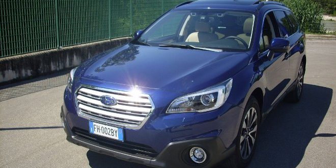 Subaru Outback Test Drive Front