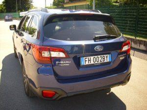 Subaru Outback Test Drive Rear