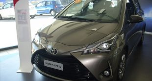Toyota Yaris Restyling Test Drive Front