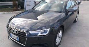 Audi A4 Test Drive Front