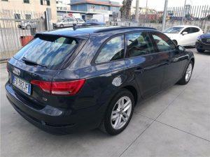 Audi A4 Test Drive Rear