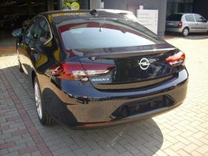 Opel Insigna Test Drive Rear