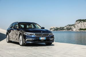 BMW Serie 5 Touring Front