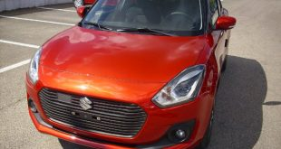 Suzuki Swift Test Drive Front