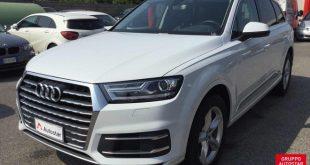Audi Q7 Test Drive Front