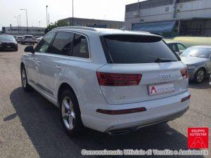 Audi Q7 Test Drive Rear
