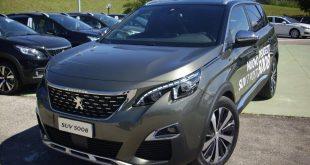 Peugeot 5008 Test Drive Front