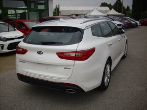 Kia Optima Test Drive Rear