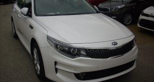 Kia Optima SW Test Drive Front