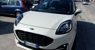 Ford Puma Test Drive Front