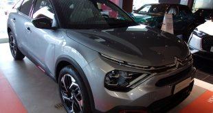 Citroen C4 Test Drive Front