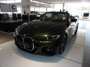 BMW Serie 4 Test Drive Front