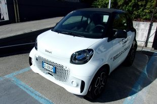 Smart Fortwo Test Drive Front