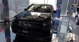 Mercedes EQA Test Drive Front