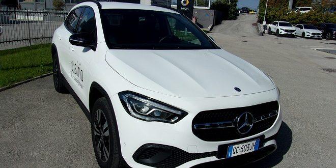 Mercedes GLA Test Drive Front