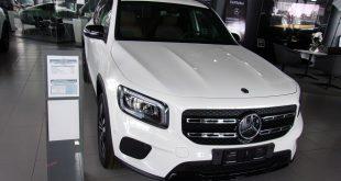 Mercedes GLB Test Drive Front