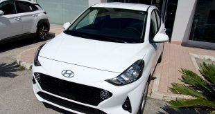 Hyundai I10 Test Drive Front