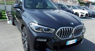 BMW X6 Test Drive Front