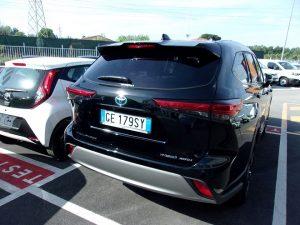 Toyota Highlander Test Drive Rear