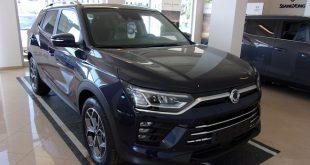 Ssangyong Korando Test Drive Front