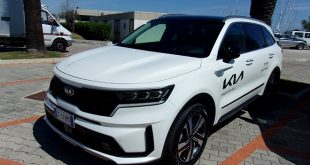 Kia Sorento Test Drive Front